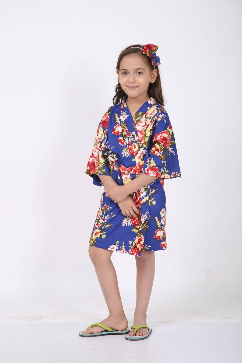 mommy and me baby shower Elder sister robe mother and baby robe floral labor robe labor robe Maternity robe set floral delivery robe