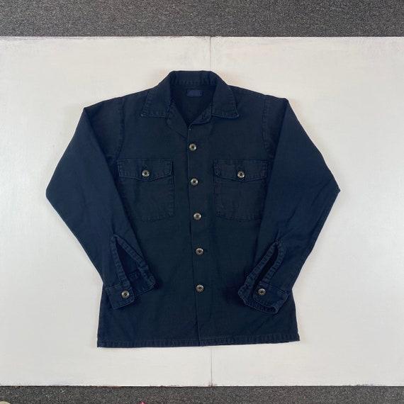 1960s Overdyed OG-107 Military Field Shirt