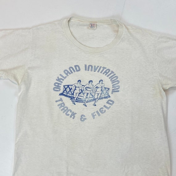 1960s Oakland Invitational Track & Field T-Shirt