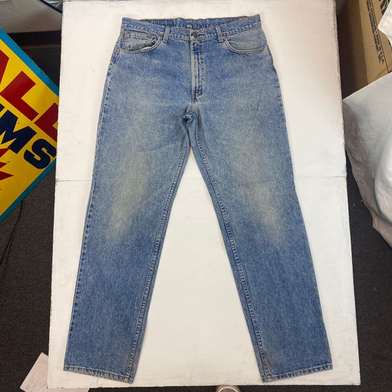 1990s Made In USA Levis 506 Jeans - image 2