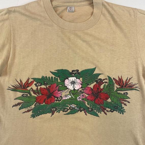 1970s California Shirt Shop Floral T-Shirt