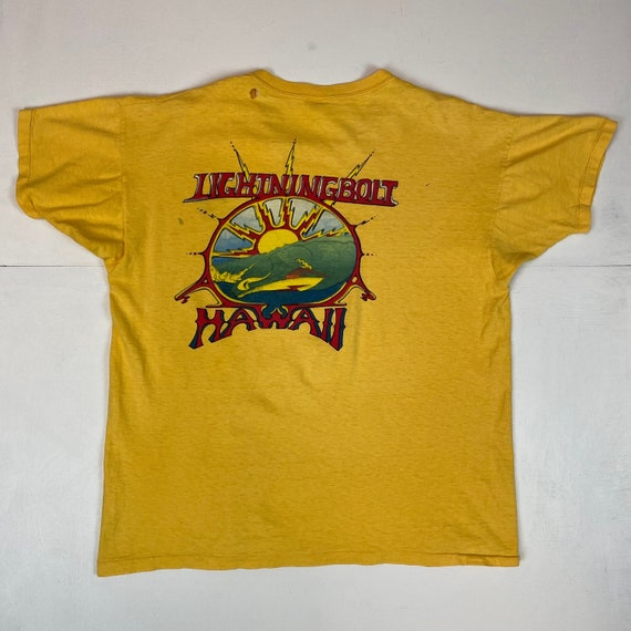 1970s Lightning Bolt Surfboards T-Shirt