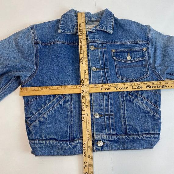 1980s Polo Ralph Lauren Type 2 Style Denim Jacket - image 3