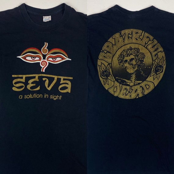 1980s Grateful Dead + Seva Foundation T-Shirt