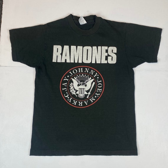 1980s Ramones Escape From New York Tour T-Shirt