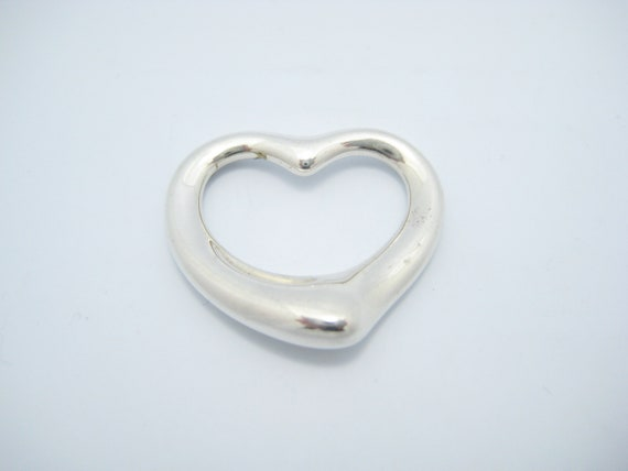 9c058e543 Tiffany & Co. Sterling Silver Elsa Peretti Large 1 Open | Etsy