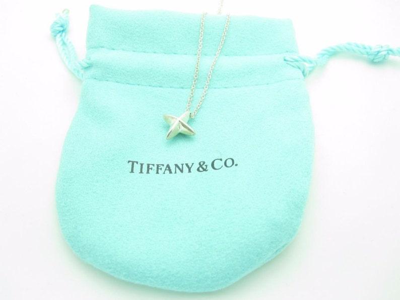 04e8c7f0c Tiffany & Co. Sterling Silver Elsa Peretti Sirius Star Pendant | Etsy