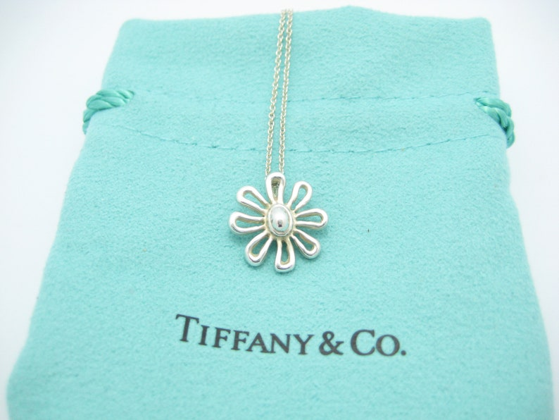 203ac2e1c Tiffany & Co. Sterling Silver Paloma Picasso Daisy Flower   Etsy