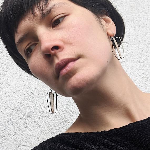 Eco Friendly Statement Earrings