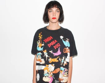90s The Flintones Yabba Dabba Doo T Shirt