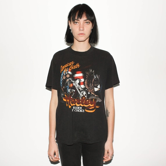 Choice Shirt 80s T By By Rider Harley Birth American CRYqwU