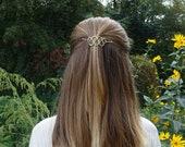 Hair accessories hair barrette womans gift metal hair clip gold hair pin hair slide hair accessories for women minimalist hair clip silver
