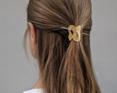 Hair clip bun holder hair accessories womans jewelry gift for her hair jewelry hair barrette hair pin minimalist hair slide simple jewelry