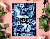 2021 Papio Press Illustrated Wall Calendar