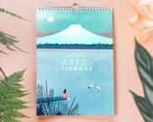 2020 Travel Illustration Wall Calendar