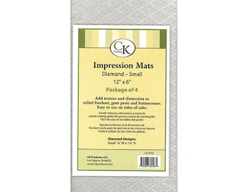 Diamond Quilted Impression Mats Set of 4