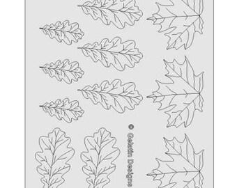 Gelatin Veining Sheets #7