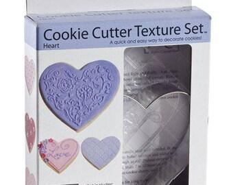 Heart Cookie Cutter Texture Set