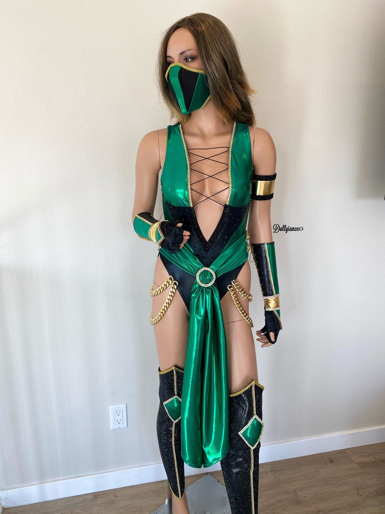 Jade - Mortal Kombat | Amazing cosplay, Cosplay