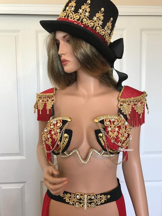 Sexy Ringleader Costume Steam Punk Costume Ringleader Etsy