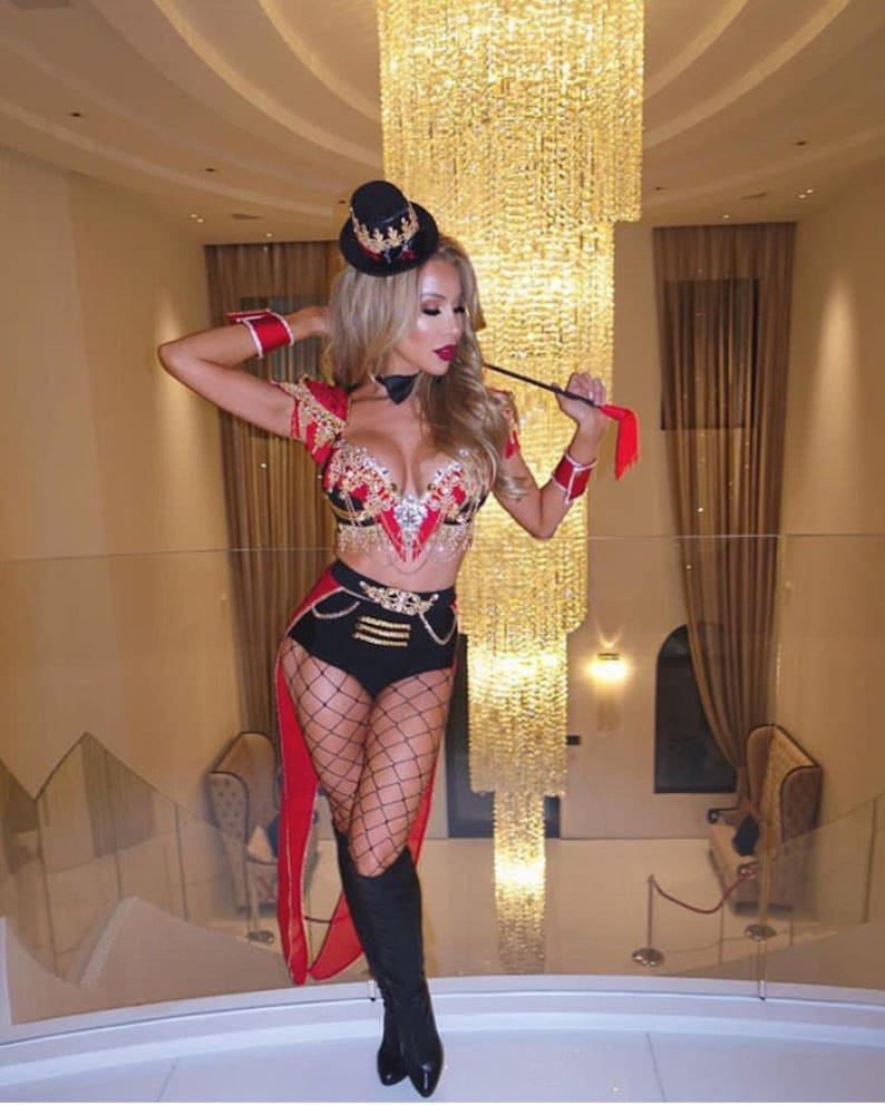 Ringleader Costume Steam Punk Costume Ringleader Outfit Etsy