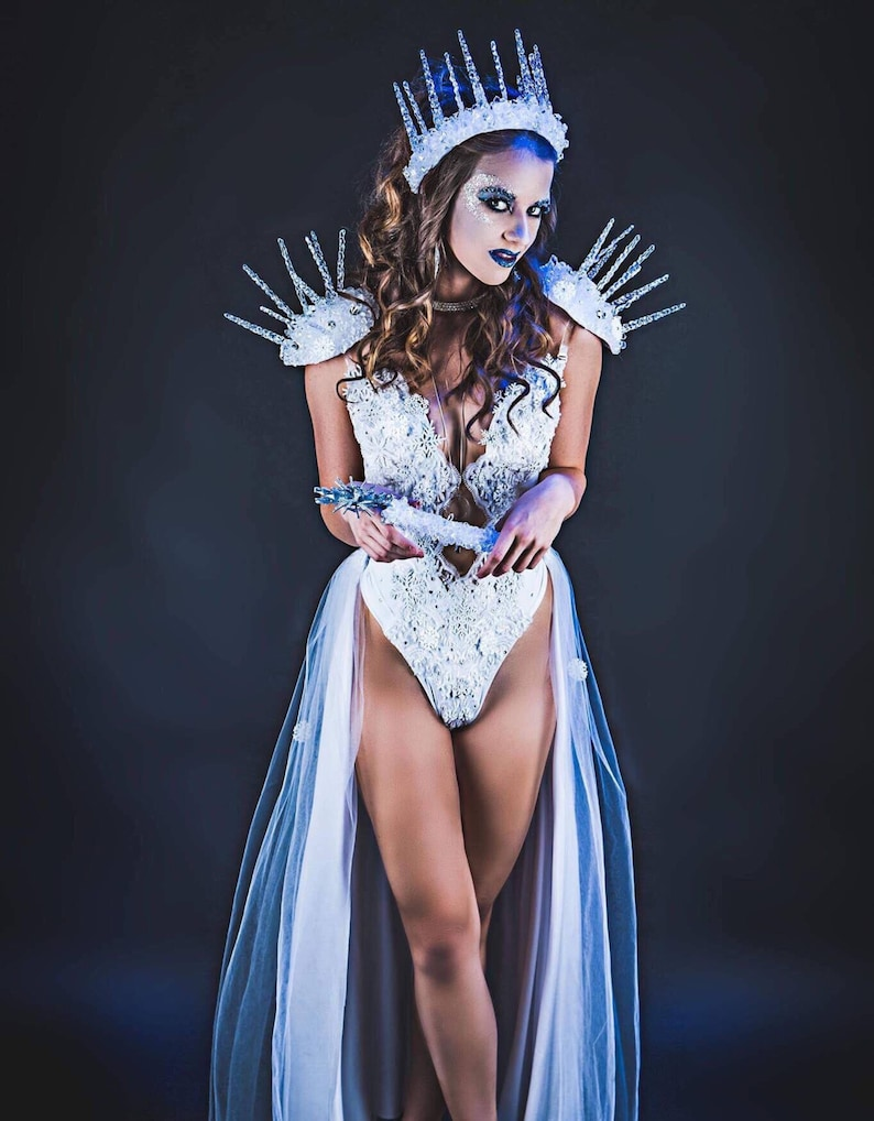 dbf50a1f4 Ice Queen Costume Sexy Ice Queen Snow Princess Ice Queen