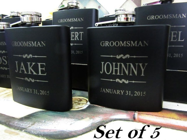 Set Of 5 Wedding Party Favors Wedding Gift Ideas For Men And