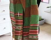 Handwoven Brown/ green Et...