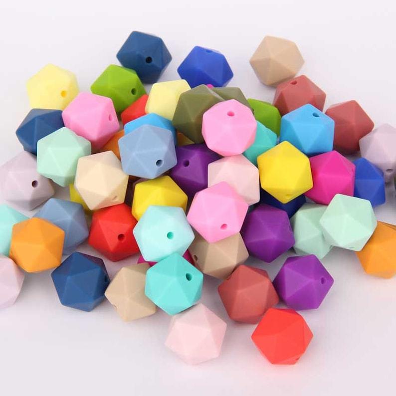 15 Mm Silikon Kinderkrankheiten Lose Perlen Baby Sicher Kautabletten Spielzeug Pflege Baby