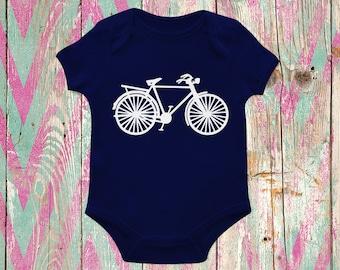 Bicycle Vinyl Iron On Applique - Onesie Decorating