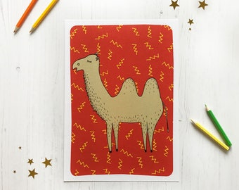 A4 Colin Camel Print
