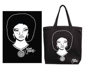 Mujer Chingona Canvas Bag