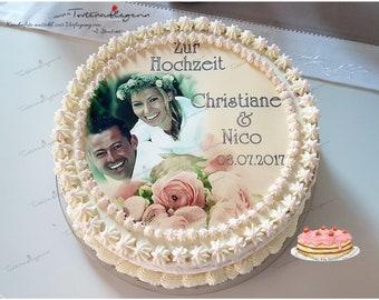 PRÉCOUPÉS COMESTIBLES 7,5 POUCES DE GIVRAGE MINNIE MOUSE 3E HAPPY BIRTHDAY CAKE TOPPER NS0992