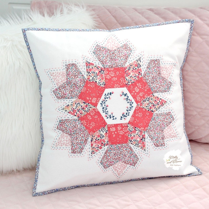 STELLA CUSHION Pattern  PDF download for English paper image 0