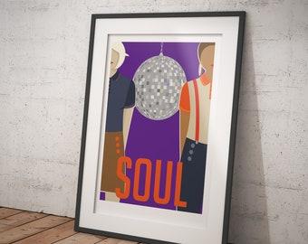Soul - Soul Music - signed art print