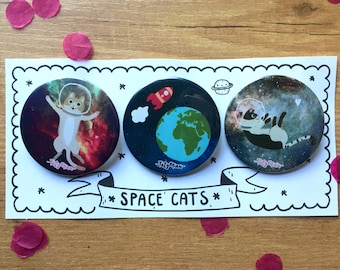 Space badges for special friends