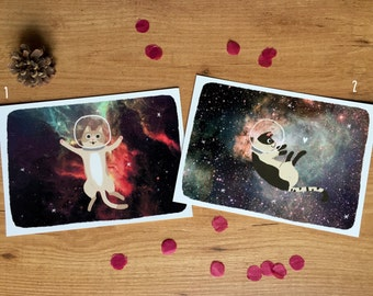 Space Cats Prints