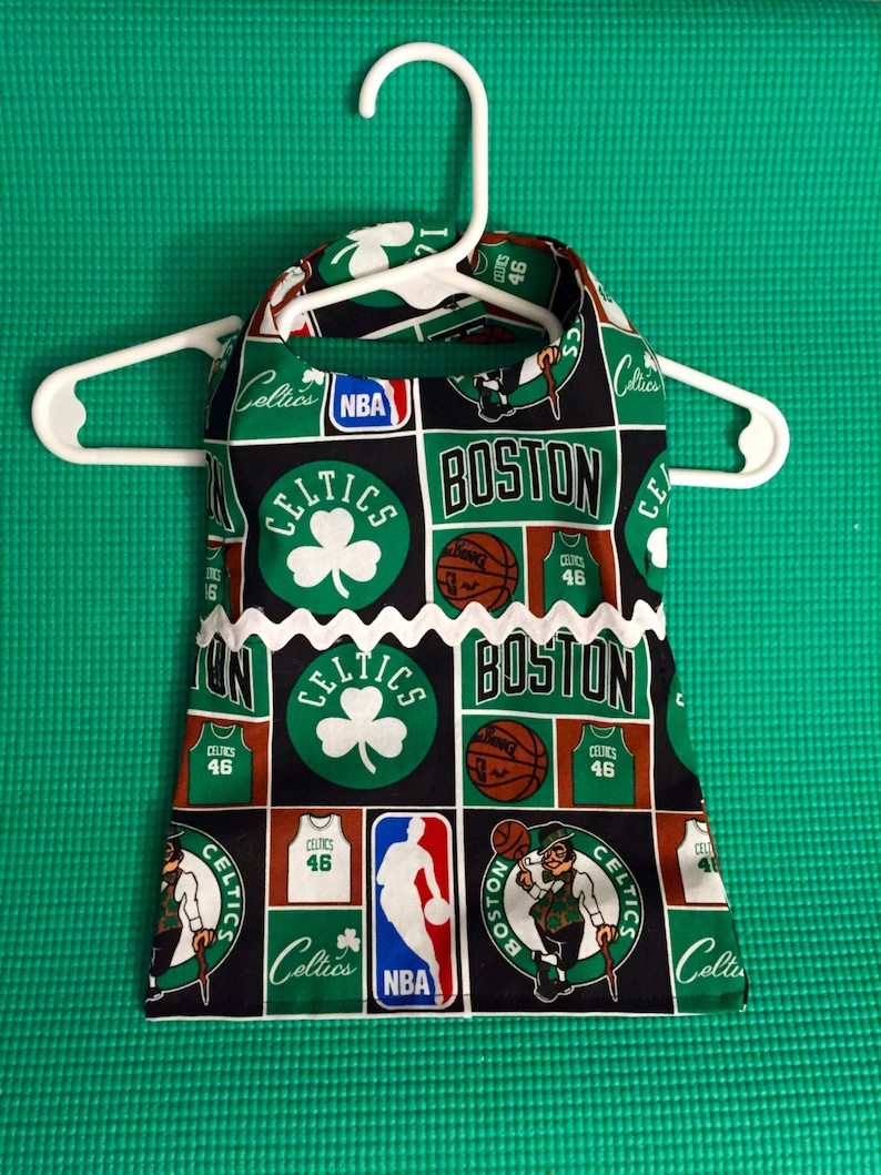 eea3154e Boston Celtics Pet Dress Boston Celtics Dog Dress NBA Dog   Etsy