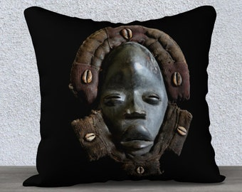 Featuring Exclusive Tikar Clay House God Design African Art Tote Bag
