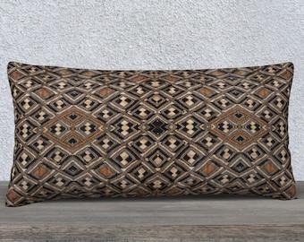 African Art Pillow Cover Rectangular