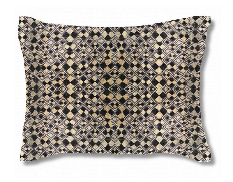 design exclusif en tissu kuba 4 la taille standard etsy. Black Bedroom Furniture Sets. Home Design Ideas