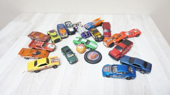 Camion Die Plastique Lot En Hotwheels Métal Modèle De 18 Voiture kwO0Pn