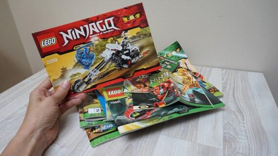 16 Lego Ninjago Building Guide Instruction Books Lot Bulk Etsy