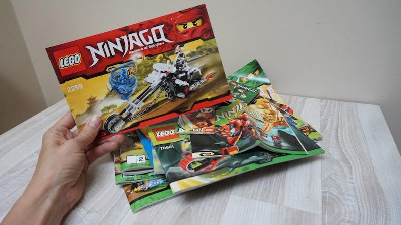 16 Lego Ninjago Anleitung Bauanleitung Bücher Viel Masse Etsy