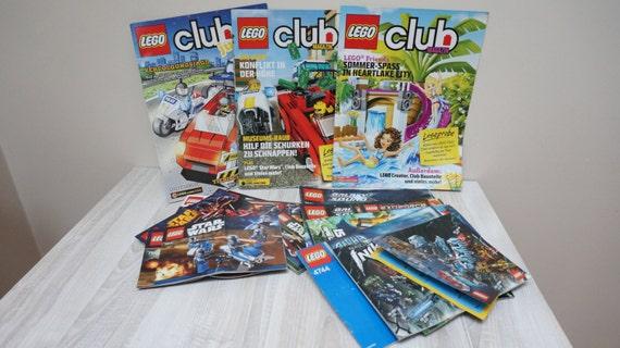 29 Lego Star Wars Building Guide Instruction Books Lot Bulk Etsy