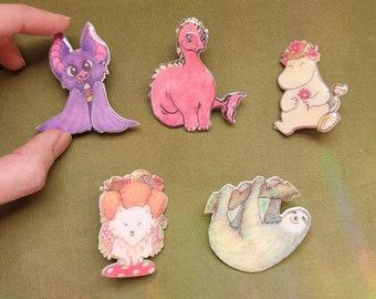 Character Pins