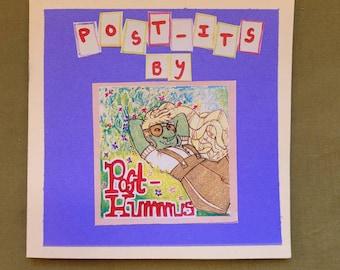 Post-Its by Post-Hummus Zine