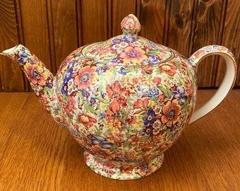 Royal Winton Grimwades Sunshine Teapot, 4 Cup Chintz Teapot