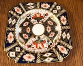 Aynsley Fine Bone China 5500 Imari Style Square Bread and Butter Plate