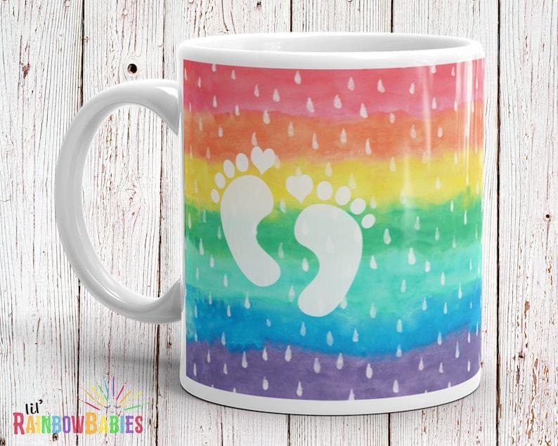 Rainbow Pregnancy Gift For Women Expecting Mom Gift Rainbow image 0